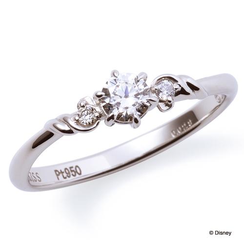 ザ・キッスのプリンセスシリーズのアリエルの婚約指輪1