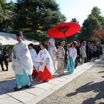 大阪のサプライズプロポーズ 道明寺天満宮