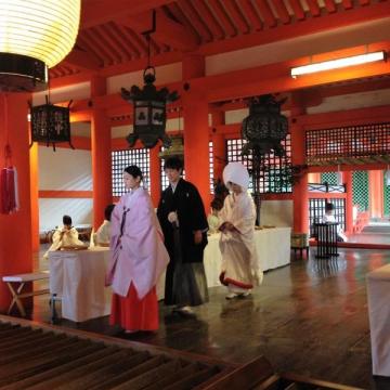 大阪のサプライズプロポーズ 厳島神社(宮島ウエディング)