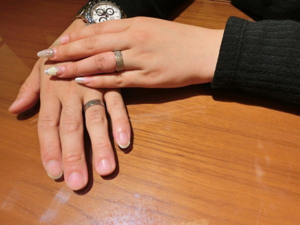 東大阪市加納 Une Mariageの婚約指輪とFISCHERの結婚指輪