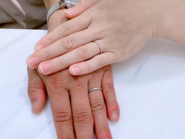 丹波市 Pulito(プリート)AMOUR AMULET(アムールアミュレット)の結婚指輪をご成約頂きました