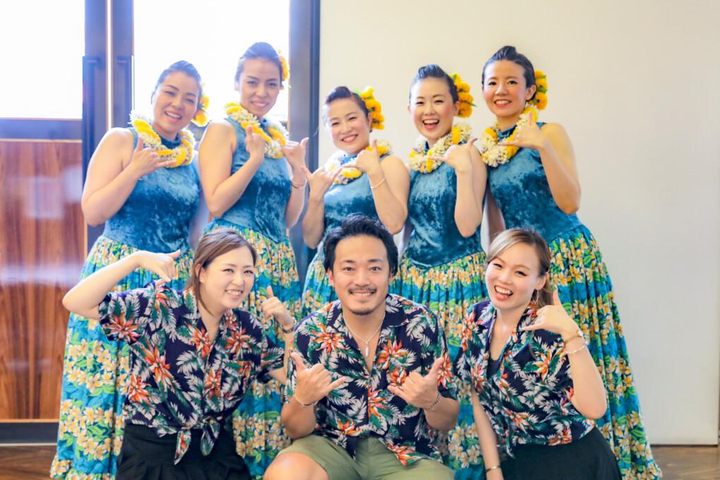 フラダンスでハワイを感じるgardenフェスタ