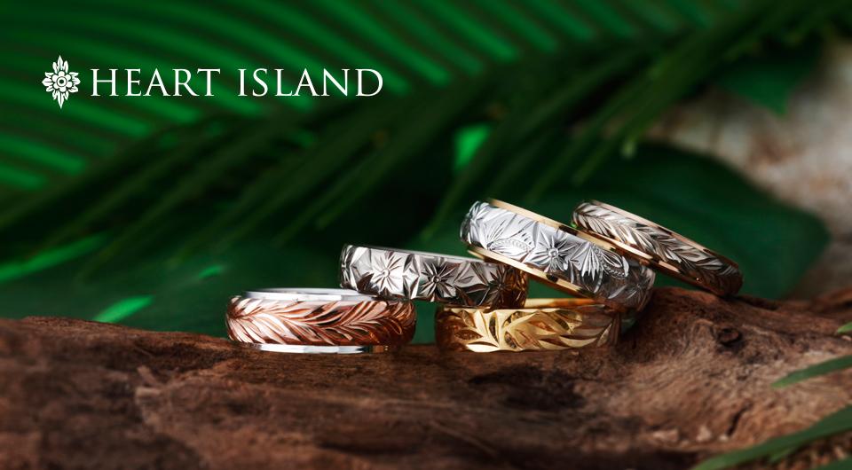 ハートアイランドのハワイアンページのブランド紹介用イメージ