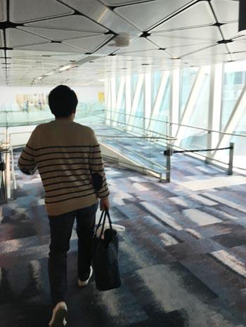 いざ香港へ