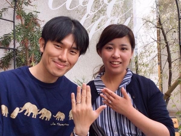 大阪・岸和田市 Mariage ent(マリアージュ エント)の結婚指輪