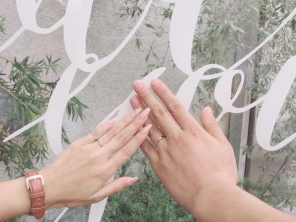 コンビの結婚指輪・大阪市住吉区 ソナーレのマリッジリング
