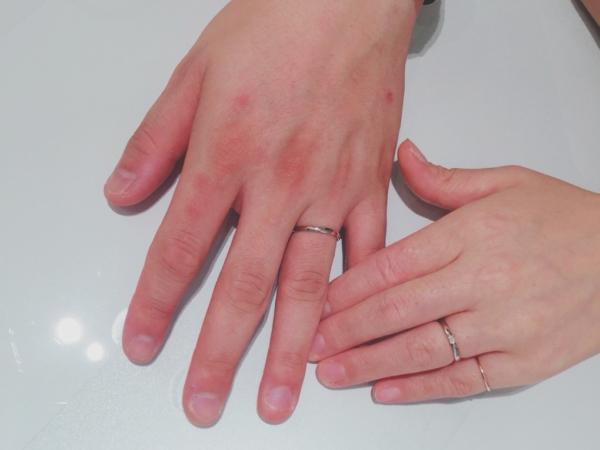 大阪・泉大津市 パッサージュの結婚指輪