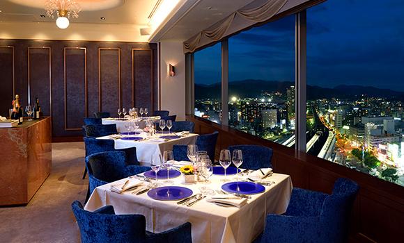 岡山でプロポーズをするならグランヴィア岡山内のレストランプリドール