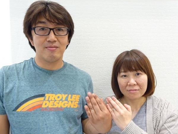 マキシ・Maxiの結婚指輪をご成約【大阪・泉南市】