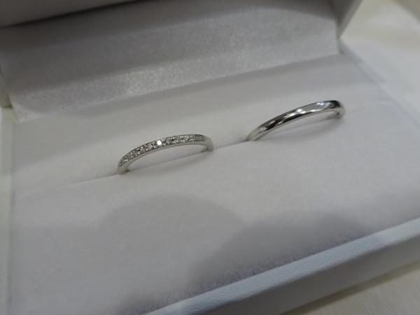 プリート・Pulitoの結婚指輪【大阪・高石市】