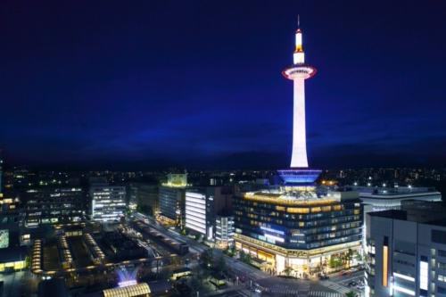 京都で夜景の前でプロポーズをするなら京都タワー