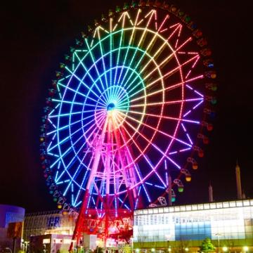 大阪のサプライズプロポーズ パレットタウン大観覧車