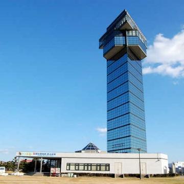 大阪のサプライズプロポーズ 大洗マリンタワー