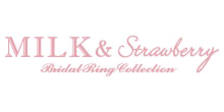 ミルクアンドストロベリーのロゴ