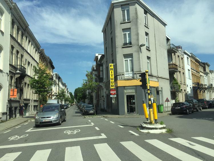 ベルギーの美しい街並み