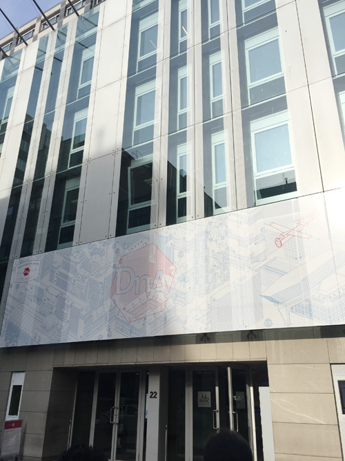 AWDCは圧倒的なスケールの建物