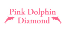 ピンクドルフィンのロゴ