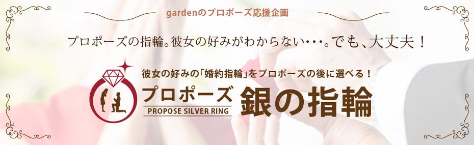 愛媛でプロポーズをするなら銀の指輪プラン