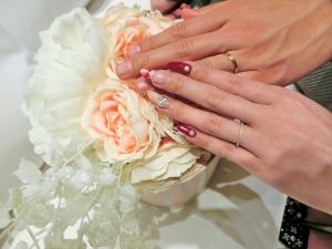 完成した指輪がすごく綺麗でお気に入りです。
