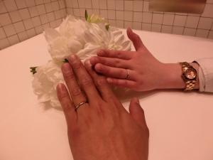 たくさん指輪があって迷いましたがいいものが選べました。