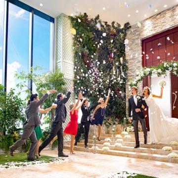 大阪のサプライズプロポーズ WEDDING TERRACE