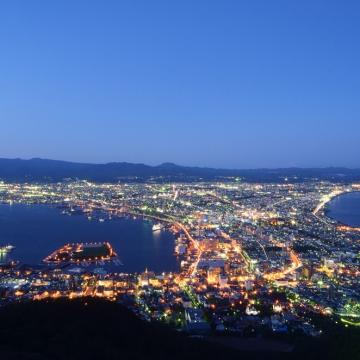大阪のサプライズプロポーズ 函館山ロープウェイ